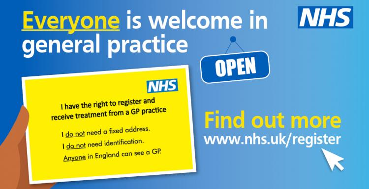 Everyone is welcome in general practice.
