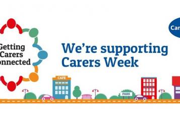 We're supporting carers week