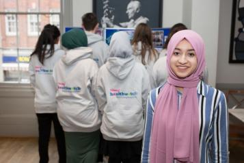 Tanzi with young healthwatch northamptonshire