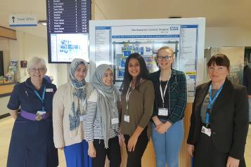 Young Healthwatch Northamptonshire visit Northampton General Hospital