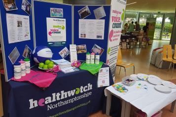 healthwatch stall