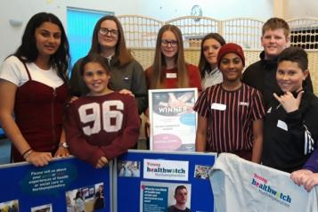 Young Healthwatch Northamptonshire with Northamptonshire young carers