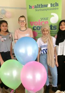 Young Healthwatch at relaunch event