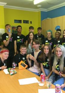 Young Healthwatch Northamptonshire and National Citizen Service visit to Elm Bank Care Home, Kettering